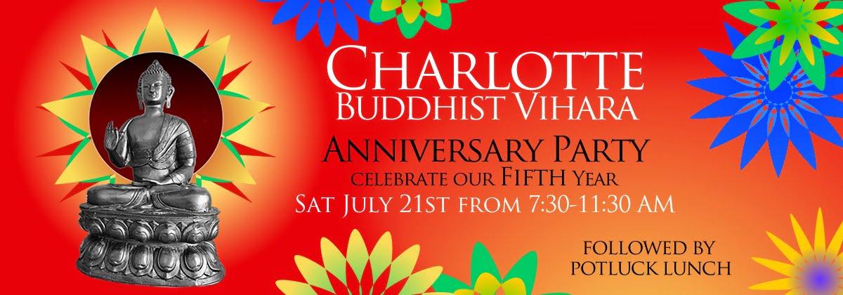 Five year Celebration and the Vihara